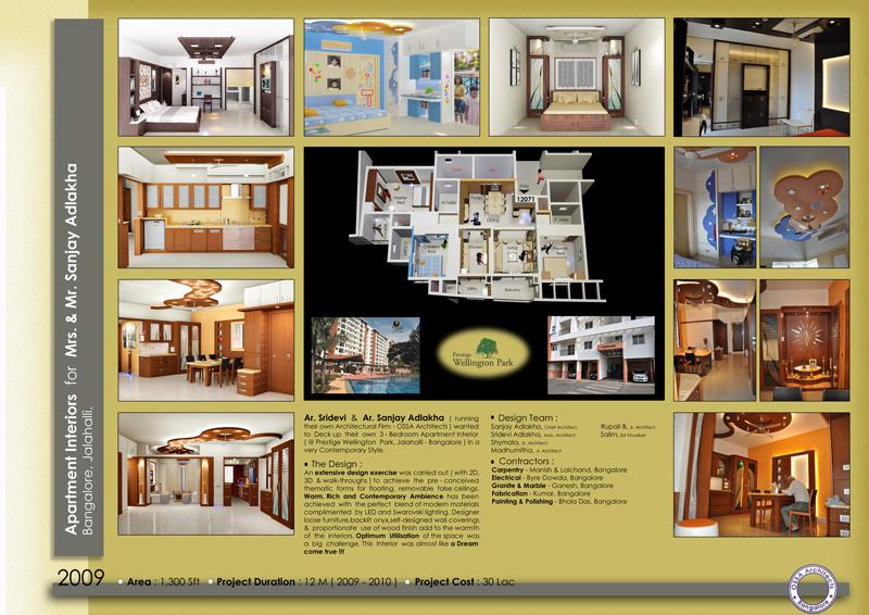 Ossa Architects Interior Design Bangalore